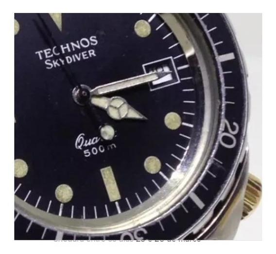 Relógio De Pulso Technos 500m Professional U03660 Webclock