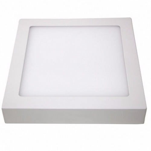 Luminária Quadrada De Sobrepor 32w 2560lm Bivolt