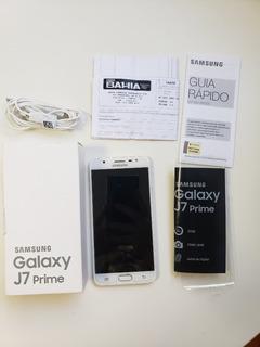 Celular Samsung Galaxy J7 Prime Dourado Frete Grátis!