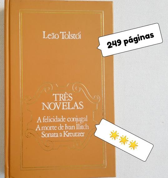 Livro Usado Tres Novelas Leao Tolstoi ***estrelas Veja