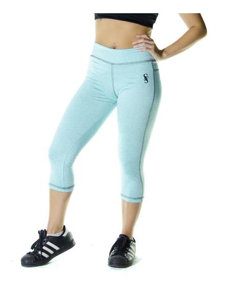 Calzas Largas Leggings Lycra Mujer 3/4