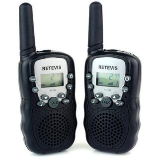 Walkie Talkie Radio Comunicador T338 Black Retevis Envio Já
