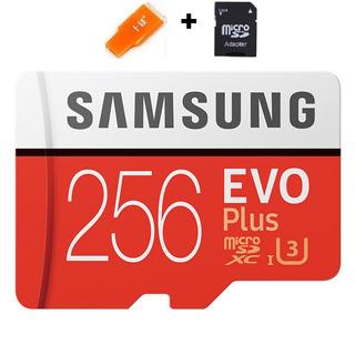 Cartao Samsung Micro Sdxc Evo Plus 100mb/s 4k 256gb Lacrado5