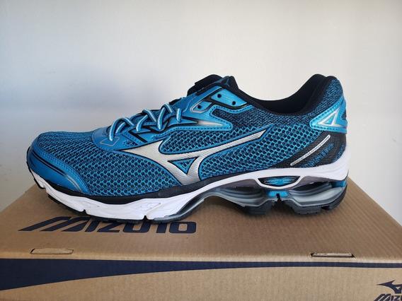 Tênis Mizuno Wave Guardian S Esportivo Azul 4139255-0619