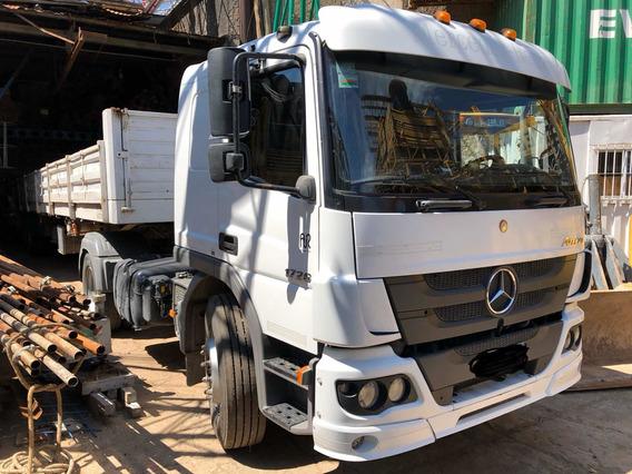 Mercedes Benz Atego 1726 36 Cabina Dormitorio 2016 Con Semi