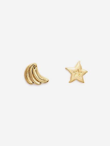 Aretes Bimba Y Lola ( Estrella Y Banana )
