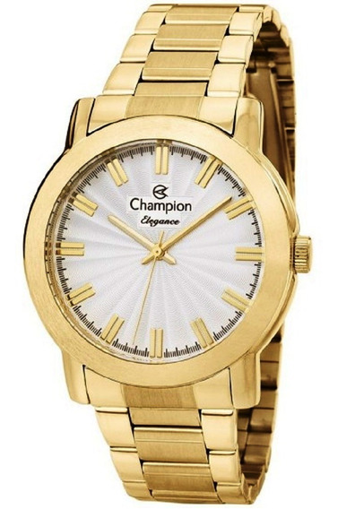 Relógio Champion Feminino Original Cn26617h Dourado