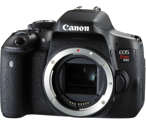 Canon Eos Rebel T6i (corpo) - 24mp
