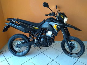 Yamaha Lander 250 X 2009 Preta