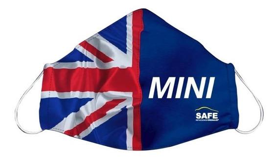 Cubre Boca Para Niño Mini Bandera Gb Edición Safe