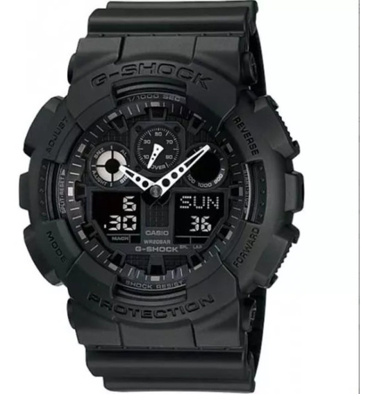 Relógio Cásio G Shock Ga 100 1a1 Masculino C Lata G Shock