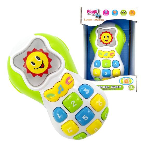 Telefono Didactico Dos Idiomas Primera Infancia Poppi 6749