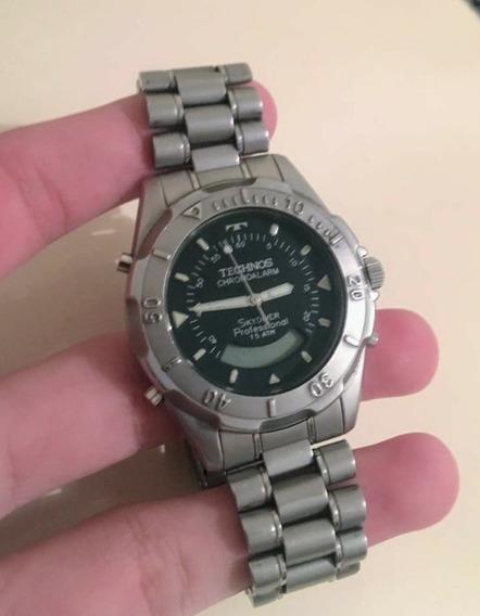 Relógio Technos Sky Diver , Novíssimo , Referência (t205.57)
