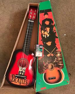 Guitarra De Juguete Roja Para Niños