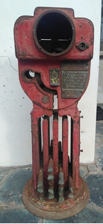 Palo Staff De Ferrocarril Antigüo