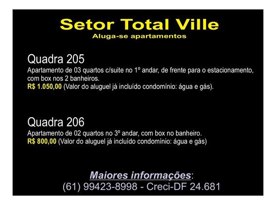 Aluguel 02 E 03 Quartos