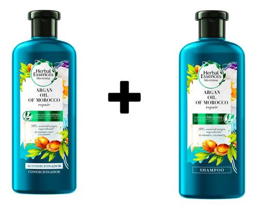 Combo Shampoo Y Acondicionador Herbal Essences Bío:renew Arg