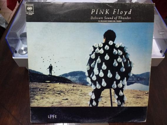 Disco De Vinilo - Pink Floyd - El Delicado Sonido Del Trueno