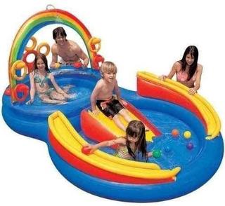 Pelotero Disney Intex Candy Zone Infantil Inflable Pileta