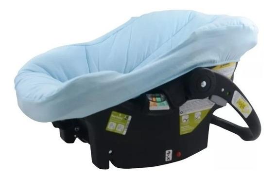 Capa P/ Bebê Conforto Modelo Universal Azul