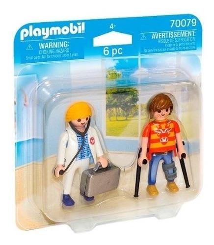 Playmobil Pack Duo 70079 - Doctor Y Paciente - Intek