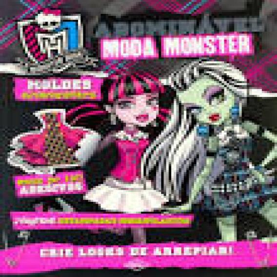 Livro Brinquedo Monster High