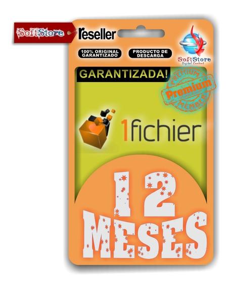 Cuenta Premium 1fichier 12 Meses (ilimitada!)