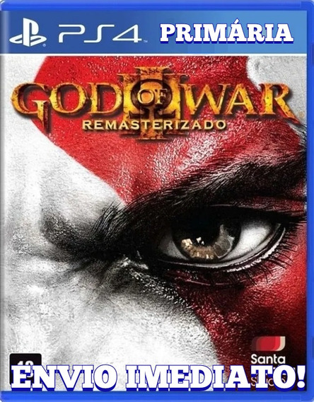 God Of War 3 Ps4 1° Digital Psn Português Original