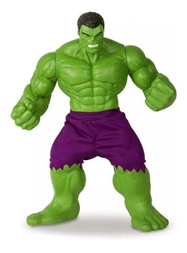 Imagem 1 de 2 de Boneco Hulk Revolution Gigante 45 Cm Mimo
