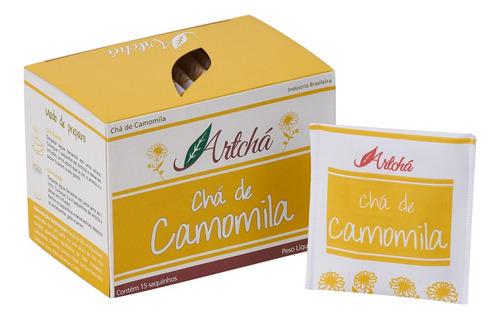 Chá De Camomila Caixa C/15 Sachês 15gr - Artchá