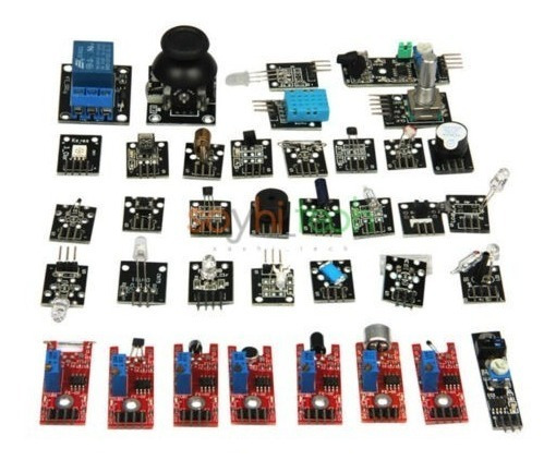 Kit Arduíno 37x1 Sensor Arduino Start Sem Case