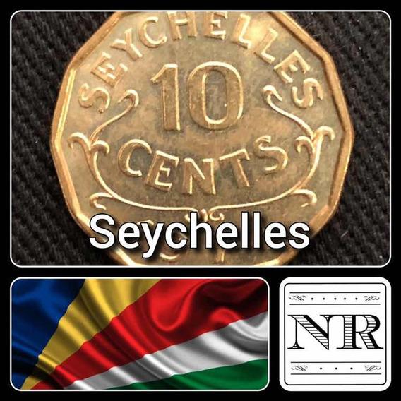 Seychelles - 10 Cents - Año 1974 - Km # 10 - Dodecagonal