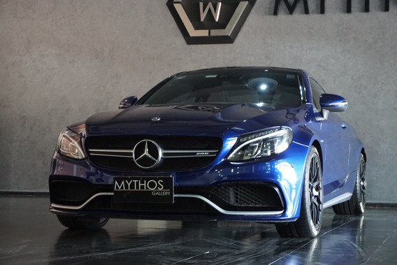 Mercedes Benz Clase C 4.0 63 S Amg Coupe At 2018