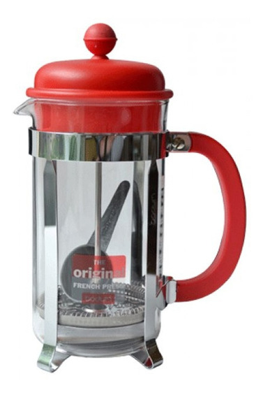 Cafetera Bodum Caffettiera 8 Pocillos Rojo