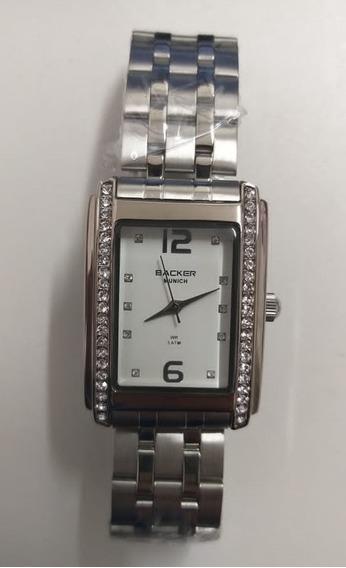 Relógio Backer Feminino Munich 3423123l Br Original Barato