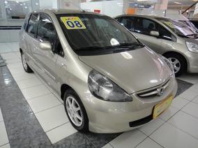 Honda Fit Ex 1.5 16v Mec Completo Airbag Abs 2008 Dourado