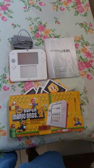 Nintendo 2ds Semi Novo Completo