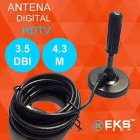Antena Tv Conversor Digital Hdtv 3.5 Dbi