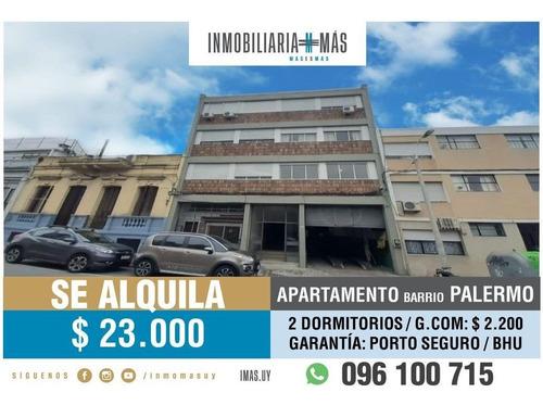 Imagen 1 de 14 de Alquiler Apartamento Palermo Montevideo Imas.uy N *
