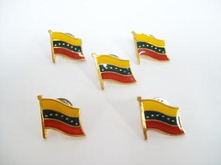 Bandera De Venezuela Pin /2 Verdes