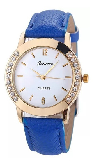 Relógio De Pulso Luxo Feminino Mulheres Strass Barato