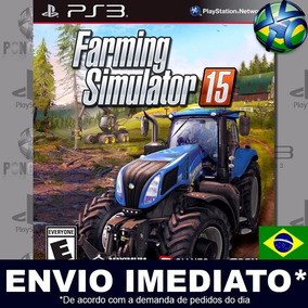 Jogo Ps3 Farming Simulator 15 Psn Play 3 Mídia Digital