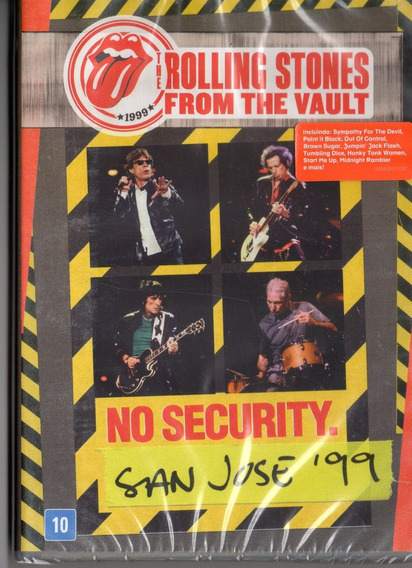 Rolling Stones From The Vault No Security San Jose ´99 Dvd