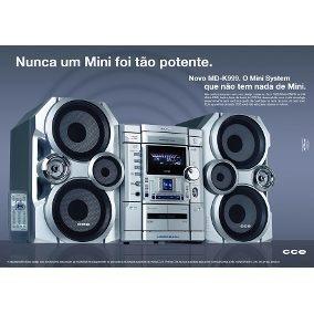 Compro Mini System Cce Md-k999 (aparelho Completo Ou Peças)