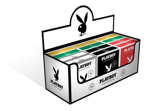 Preservativos Playboy Surtidos 12 Cajitas X 3 Preservativos