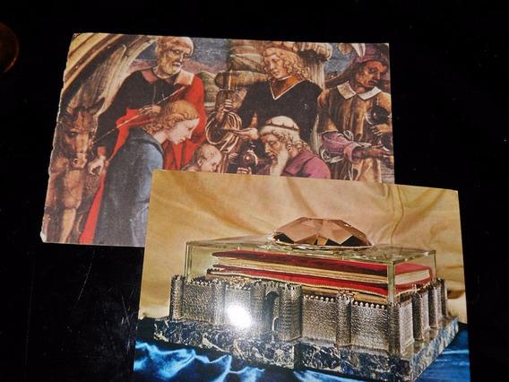 Postal Antiguas Religiosas Motivos Varian Segun Stock