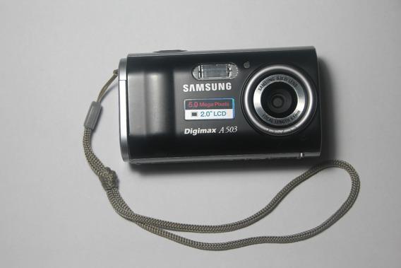 Câmera Digital Samsung Digimax A 503