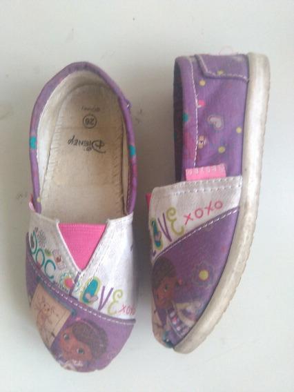 Zapatos Doctora Juguete Talla 26