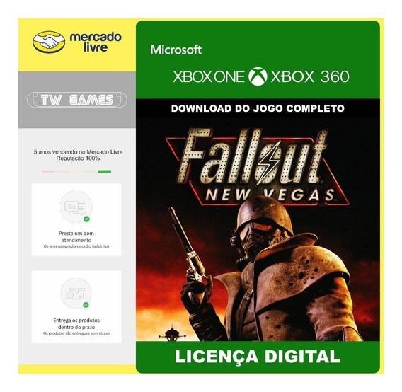 Fallout New Vegas Digital Xbox 360 Xbox One