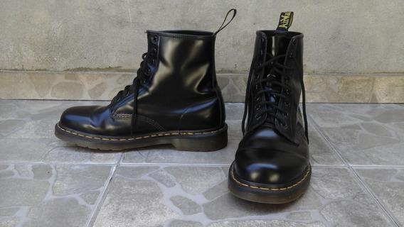 Botas Dr. Martens 1460 Smooth - Cuero Negro - Talle 11 Usa
